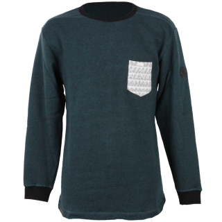 Shisha Wellig Sweater Pullover Forrest Green Ash S