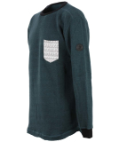 Shisha Wellig Sweater Pullover Forrest Green Ash XL