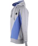 Shisha Haaken Hooded Mens Pullover Ash Dazzling Blue