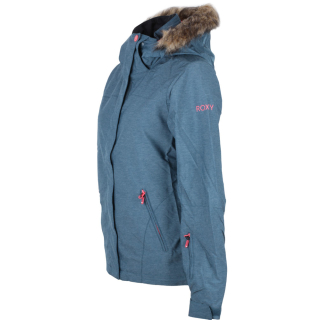 Roxy Jet Ski Text Snowboardjacke Funktionsjacke Legion Blue