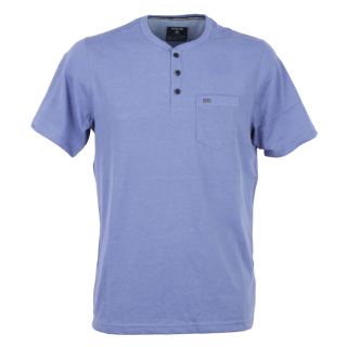 Hurley Dri-Fit Lagos Henley 3.0 T-Shirt Blue Moon