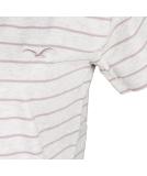 Cleptomanicx Harbour Women Loose Damen T-Shirt Heather Creme