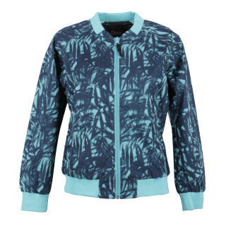 Cleptomanicx Leaves Bomber All Season Damen Jacke Dusty Turquoise S