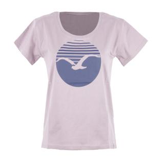 Cleptomanicx Sun Women Loose Damen T-Shirt Quail