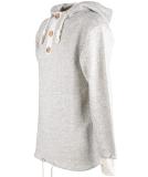 Shisha Riff Hooded Pullover Uni Kapuzenpullover Creme Black