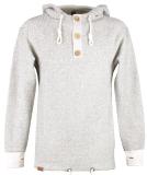 Shisha Riff Hooded Pullover Uni Kapuzenpullover Creme Black S