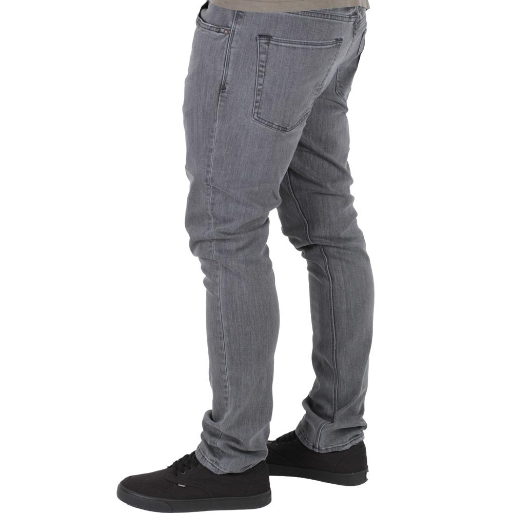Volcom 2x4 Denim Herren Jeans Worn Sgene Grey Grau, 52,90 €