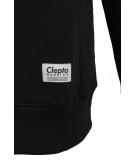 Cleptomanicx Jonin Hooded Herren Pullover Black schwarz