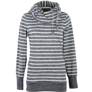 the best attitude 7157f 970b1 Ragwear Beat Stripes Hoody Damen Sweatshirt Pullover Navy ...