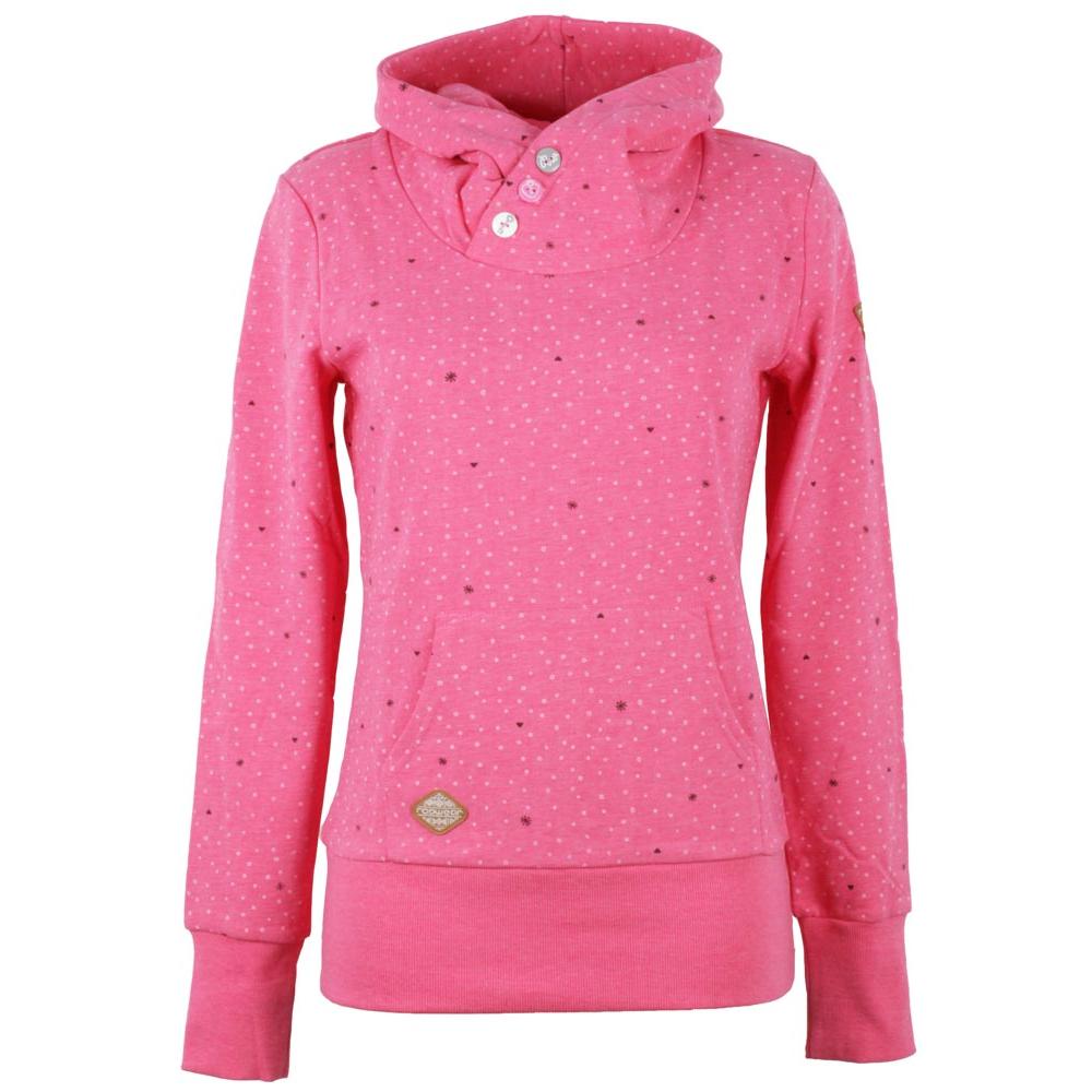 ragwear chelsea hearts hoody damen sweatshirt pullover. Black Bedroom Furniture Sets. Home Design Ideas