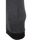 Shisha Klaasje Longhooded Damen Pullover Anthracite