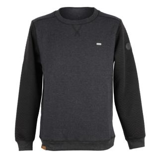 Shisha Heering Sweater Herren Pullover Anthracite Black schwarz