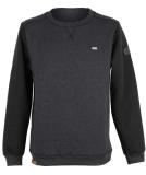 Shisha Heering Sweater Herren Pullover Anthracite Black...
