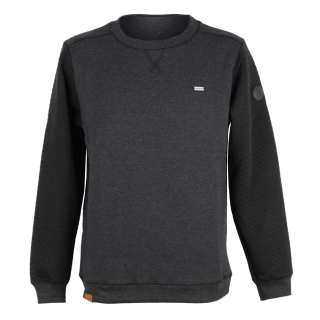 Shisha Heering Sweater Herren Pullover Anthracite Black schwarz S