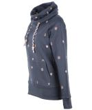 Shisha Gemuutlich Hooded Damen Pullover Blueberry Pink L