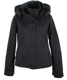 Bench Asymmetric Functional Jacke Damen Winterjacke Black...