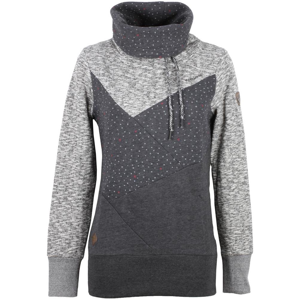 3ae690b46fdc Ragwear Viola Hoody Damen Sweatshirt Black schwarz