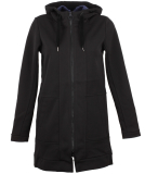 Bench Long Straight Zip Through Hoody Damen Sweatjacke...