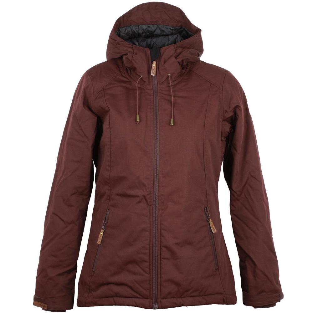 iriedaily kishory segler jacket damen winterjacke red wine rot 89 90. Black Bedroom Furniture Sets. Home Design Ideas