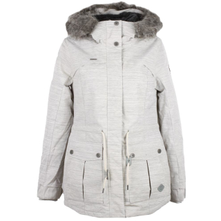 Winterjacke in beige