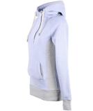 Shisha Parl Hooded Damen Pullover Light Blue Flame L