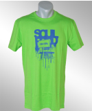 Iriedaily Soul Food T-Shirt neon green