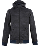 Bench Hoody Bomber Zipper Herren Jacke Blue Nights blau