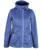 Bench Windproof Hoody Zipper Damen Sweatjacke Blue Depths blau violett S