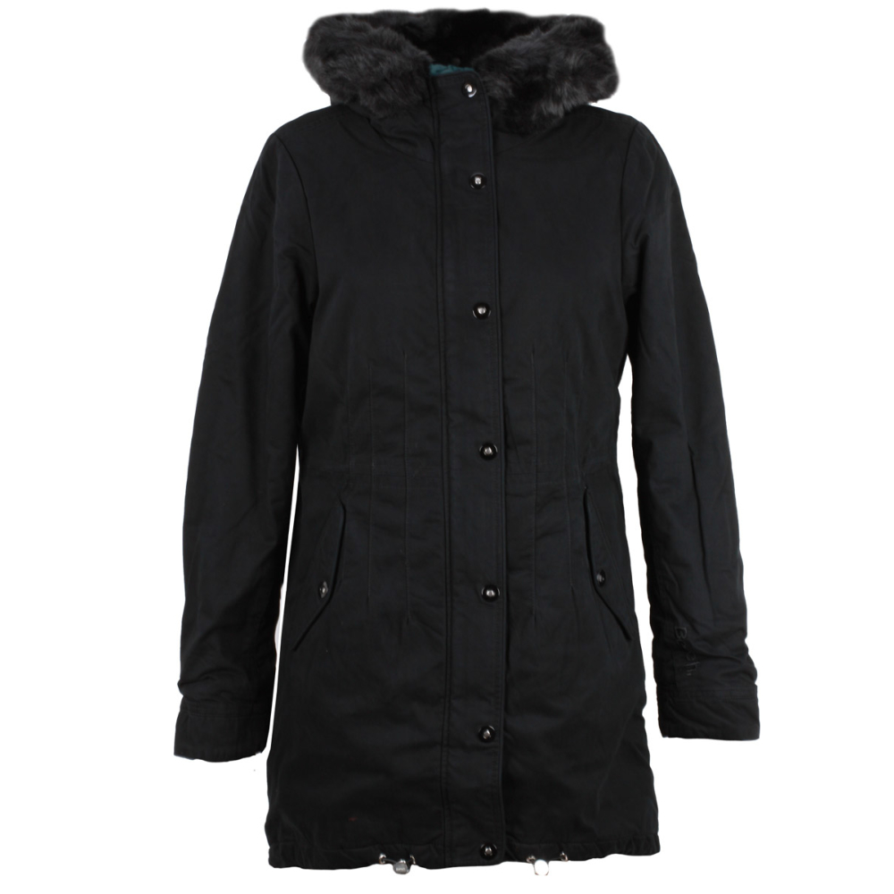 bench new parka cotton core jacke damen winterparka black beauty schw. Black Bedroom Furniture Sets. Home Design Ideas