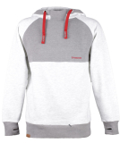 Shisha Basic Hooded Pullover Dark Ash Light Ash S