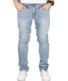 Volcom 2x4 Denim Herren Jeans Angled Bleach Wash