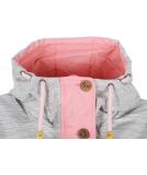 Ragwear Fancy Jacke Damen Übergangsjacke Pink
