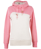 Ragwear Nuggie Sweat Hoodie Damen Sweatshirt Pink
