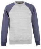 Element Meridian Block Crewneck Pullover Grey Heather