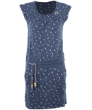 Ragwear Penelope Kleid Damen Denim Blue