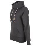 Shisha Kroon Hooded Damen Pullover Anthracite Melange L
