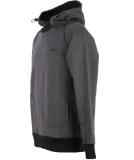 Shisha Storm Hooded Herren Pullover Anthracite Black