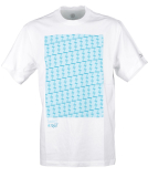 Element Commit Block SS Tee Herren T-Shirt Optic White
