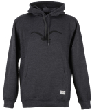 Cleptomanicx Mowe Tonal Hooded Herren Pullover Heather Black