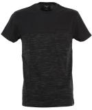 Iriedaily Mesh Block T-Shirt Black Mel S
