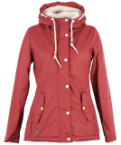 Ragwear Marge Outdoorjacke Damen Wine Red