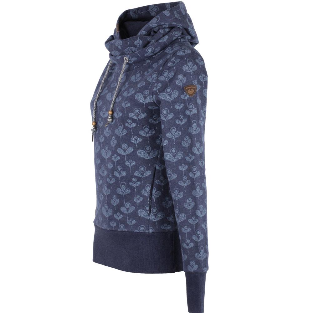 f1ef2e0f840a Ragwear Hooked Hoody Damen Sweatshirt Pullover Indigo, 54,90 €