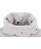 Shisha Gemuutlich Hooded Damen Pullover Ash Navy