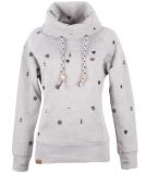 Shisha Gemuutlich Hooded Damen Pullover Ash Navy S