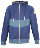 Shisha Fuul Ziphood Sweatjacke Estate Blue Stargazar