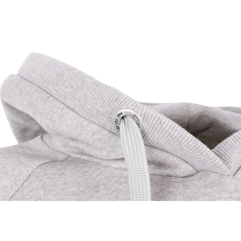 Shisha Classic Hooded Pullover Ash Melange