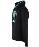 Shisha Sleet Hooded Pullover BlackInject