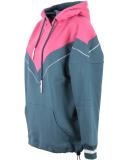 Shisha 90s-Tied Hooded Pullover Stargazar Pink Flambe XL