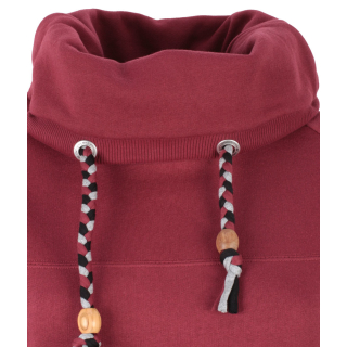 Shisha Kroon Hooded Pullover Cabernet Red