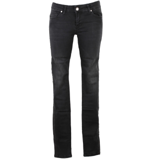 Zhrill Daffy Denim Damen Jeans Black schwarz 28